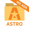 ASTRO File Manager with Cloud  logo